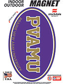 Prairie View A & M University 3.5''x5.5'' Oval Magnet