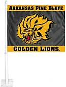 University of Arkansas at Pine Bluff Golden Lions Car Flag