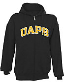 University of Arkansas at Pine Bluff Full-Zip Hooded Sweatshirt