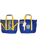 University of Arkansas at Pine Bluff Greek Canvas Bag