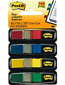 POST-IT FLAG 4PK AST COLOR