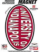 University of Indianapolis 3.5' x 5.5' Magnet