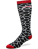 University of Indianapolis Greyhounds Women's Giraffe Knee High Socks