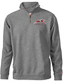 University of Indianapolis Greyhounds Tri-Blend 1/4 Zip Fleece Pullover