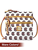 University of South Carolina Dooney & Bourke Triple Zipper Cross-Body Purse