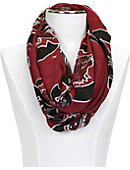 University of South Carolina Logo Infinity Scarf