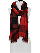 University of South Carolina Plaid Scarf