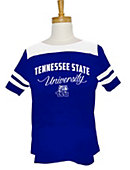 Tennessee State University Women's Striped T-Shirt