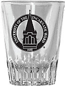 University of the Incarnate Word 2 oz. Fluted Collector's Glass