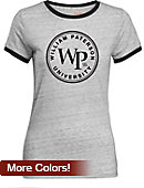 William Paterson University Women's Athletic Fit Ringer Short Sleeve T-Shirt