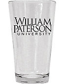 William Paterson University 16 oz. Drinking Glass