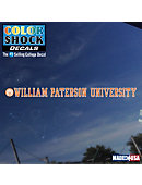 William Paterson University Strip Decal