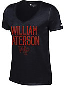 William Paterson University Women's Atheltic Fit V-Neck Short Sleeve T-Shirt