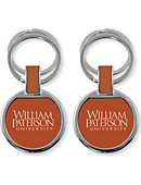 William Paterson University Double Ring Keychain