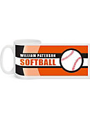 William Paterson University Softball 15 oz. Mug