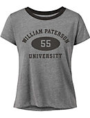 William Paterson University Women's Cropped Short Sleeve T-Shirt