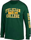 Felician College Golden Falcons Long Sleeve T-Shirt