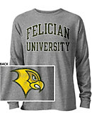 Felician College Golden Falcons Long Sleeve Victory Falls T-Shirt