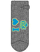 Regis University Women's No Show Socks