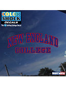 New England College Arch Decal