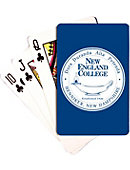 New England College Playing Cards