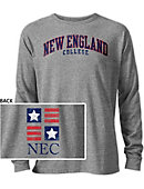 New England College Long Sleeve Victory Falls T-Shirt
