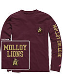 Molloy College Long Sleeve Pocket T-Shirt