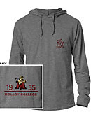 Molloy College Hooded Long Sleeve T-Shirt