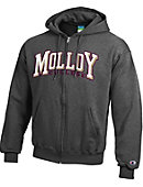 Molloy College Full Zip Hooded Sweatshirt