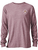 Molloy College Tri-blend Twisted Long Sleeve T-Shirt