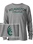 Wilmington College Long Sleeve Victory Falls T-Shirt