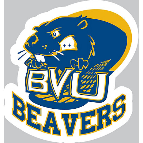 Product: Buena Vista University Beavers 5'' x 6'' Moveable Decal