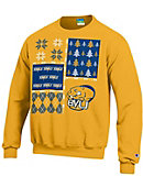 Buena Vista University Ugly Sweater Crewneck Sweatshirt