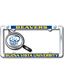 Buena Vista University Beavers Thin Dome License Plate Frame