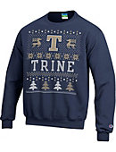 Trine University Ugly Christmas Sweater Crewneck Sweatshirt