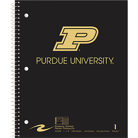 Product: Purdue University Notebook 100-Sheet