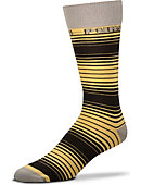 Purdue University Thin Striped Dress Socks