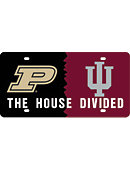 Purdue University Elite 'House Divided' License Plate