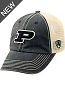 Purdue University Adjustable Trucker Cap