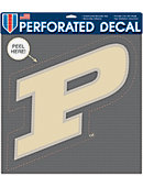Purdue University Perforated Decal