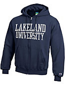 Lakeland University Full Zip Hooded Sweatshirt