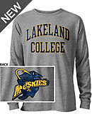 Lakeland College Muskies Long Sleeve Victory Falls T-Shirt