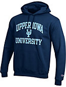 Upper Iowa University Peacocks Hooded Sweatshirt