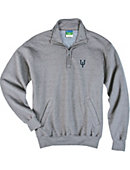 Upper Iowa University Peacocks 1/4 Zip Fleece