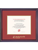 Manhattanville College 11'' x 14'' Elite Diploma Frame