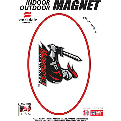 Product: Manhattanville College Valiants 3.5''x5.5'' Oval Magnet