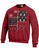 Manhattanville College Ugly Sweater Crewneck Sweatshirt