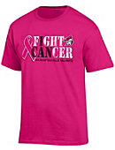 Manhattanville College Valiants Breast Cancer Awareness T-Shirt