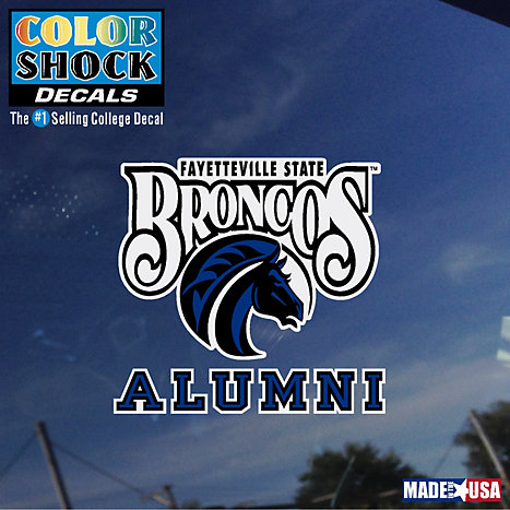 Product: Fayetteville State Broncos Alumni Decal