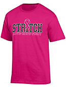 Cardinal Stritch University Wolves Breast Cancer Awareness Ribbon T-Shirt